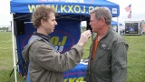 Eric interviewing Sen. Jim Inhofe