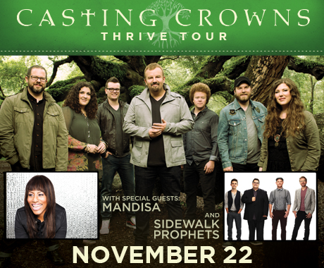 Casting crowns tour dates in Melbourne