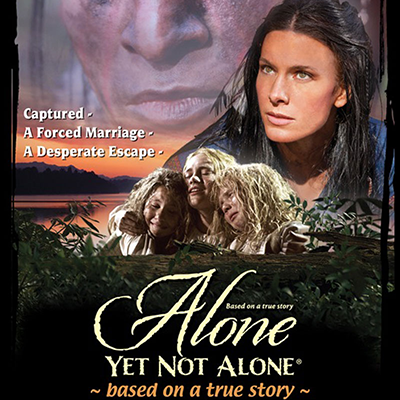 Find out more about the new movie Alone, Yet Not Alone