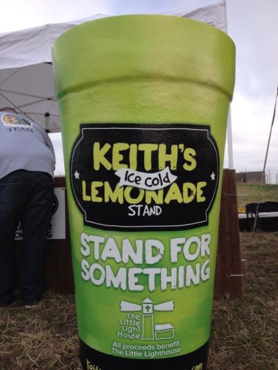 Drink lemonade and help young Keith raise money for Little Light House!