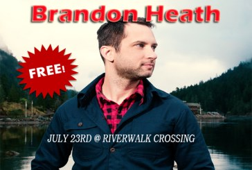 Brandon Heath on the morning show