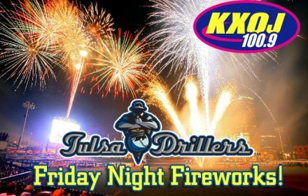 Tulsa Drillers Friday Night Fireworks copy