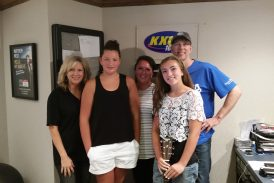 Makayla is our Camp Electric Scholarship Winner and sang on the air!