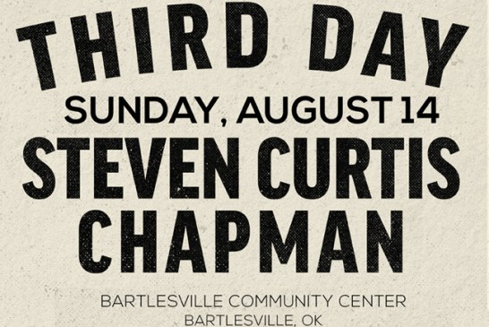 Third Day/Steven Curtis Chapman Aug 14th
