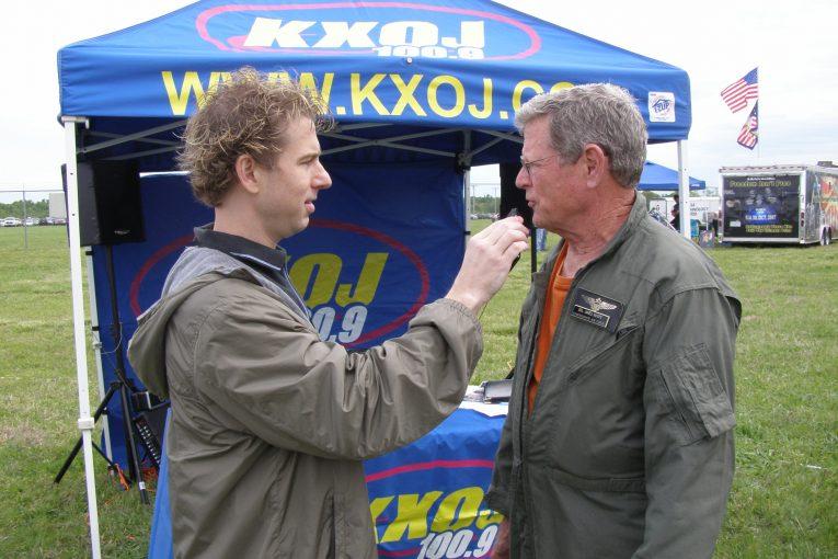 Eric interviewing Sen. Jim Inhofe
