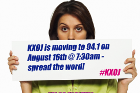 KXOJ IS MOVING MORNING SHOW ANNOUNCEMENT!!