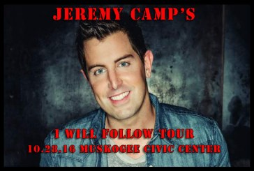 Jeremy Camp coming to Muskogee