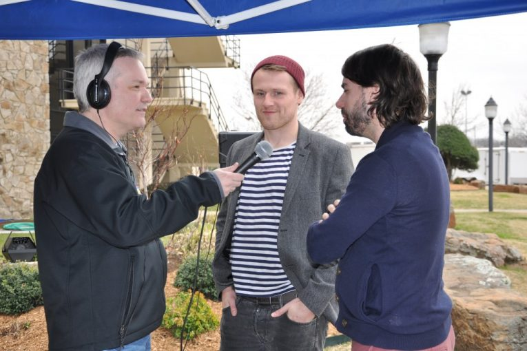 Bob Michael interviewing Rend Collective