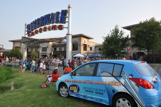 The Jackie Cooper Cruise Car at Stars Go Dim and Cloverton