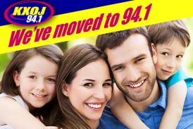 Hear the move to 94.1