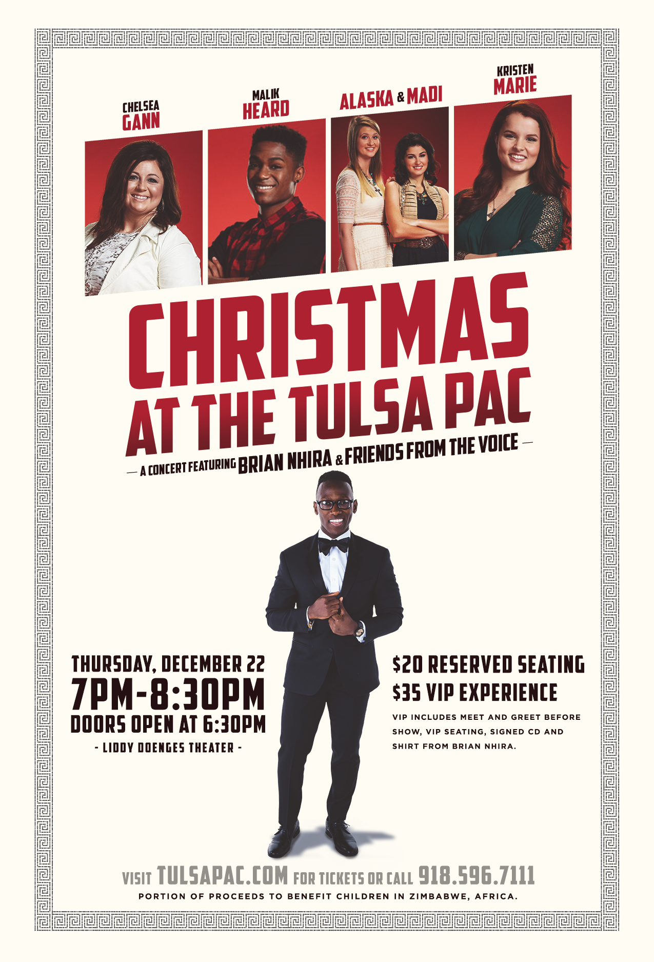 Christmas at the Tulsa PAC with Brian Nhira and Friends from \'The ...
