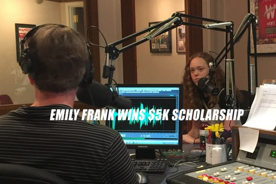 Emily Frank wins $5k Scholarship