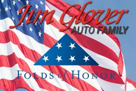 Jim Glover Auto Family Stand To Honor