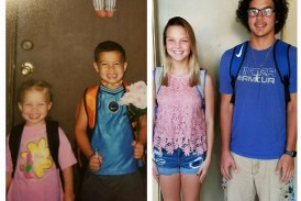 Your first day of School pictures!