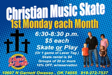 Christian Music Skate Night at Wheels & Thrills