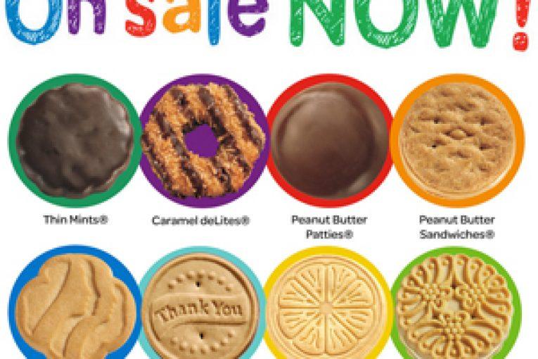 Girl Scout Cookies sales begin soon!