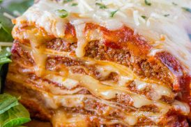 Jamie's special lasagna in a crock pot recipe!