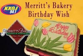 Merritt's Bakery Birthday Wish
