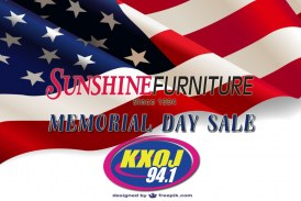 Sunshine Furniture Memorial Day Sale