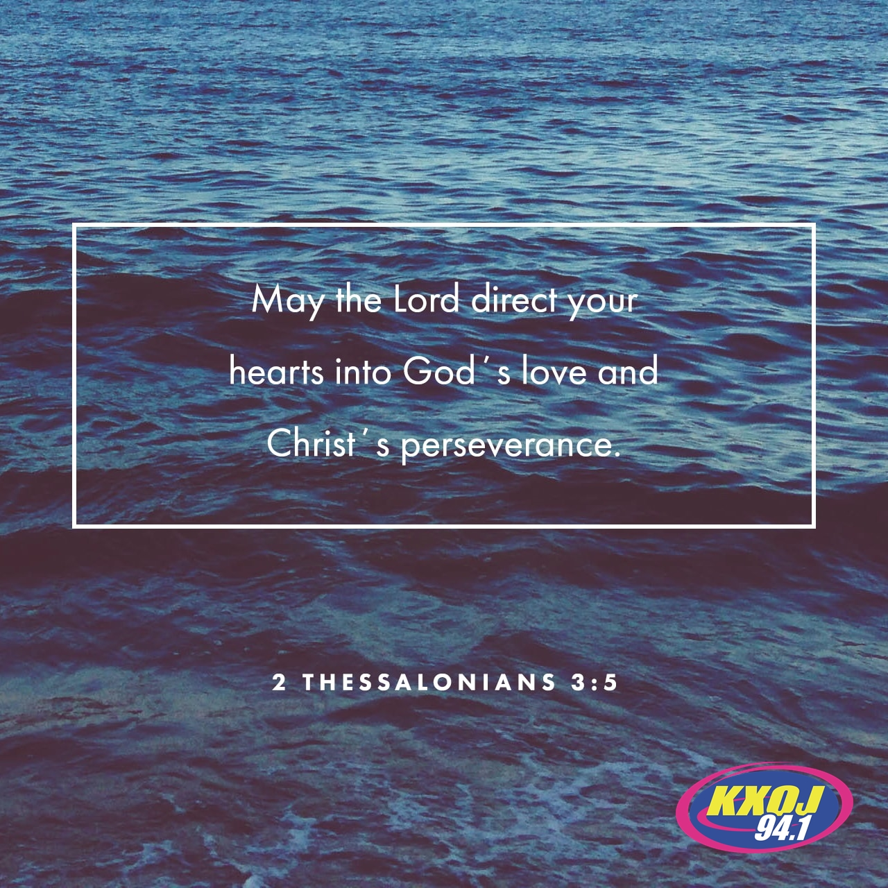 September 15th - 2 Thessalonians 3:5
