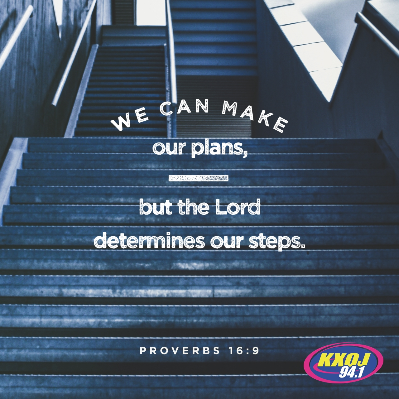 November 2nd - Proverbs 16:9