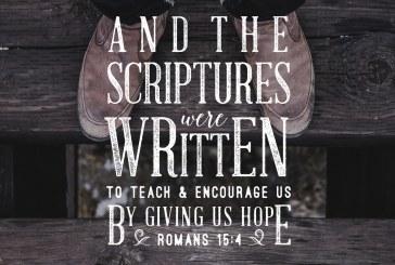 November 8th – Romans 15:4