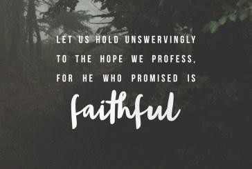 November 16th – Hebrews 10:23