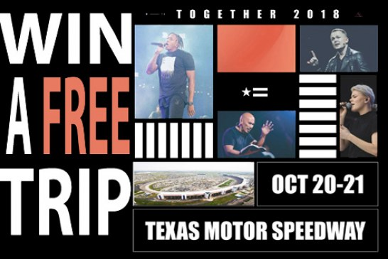 Win a trip to TOGETHER in Dallas