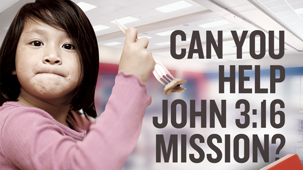 John 3:16 Mission Canned Food Drive