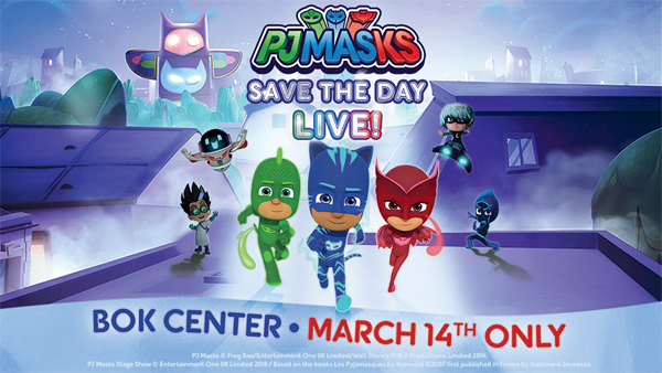PJ Masks March 14th