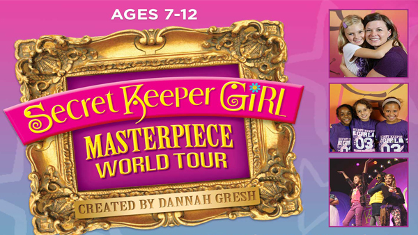 Secret Keeper Girl Masterpiece World Tour February 8th