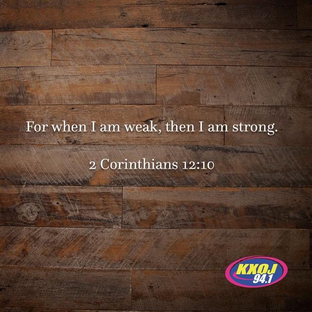 January 14th - 2 Corinthians 12:10