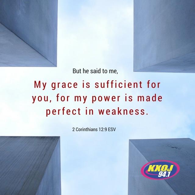 January 12th - 2 Corinthians 12:9