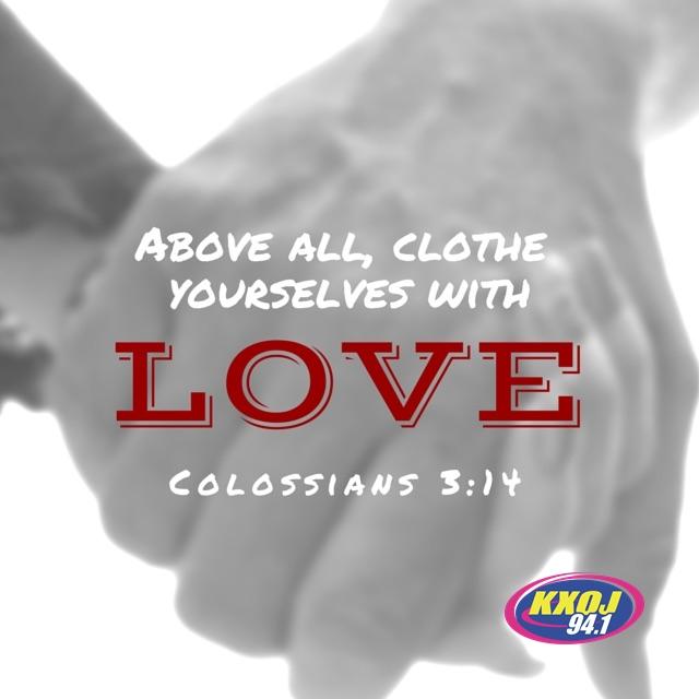 January 16th - Colossians 3:14