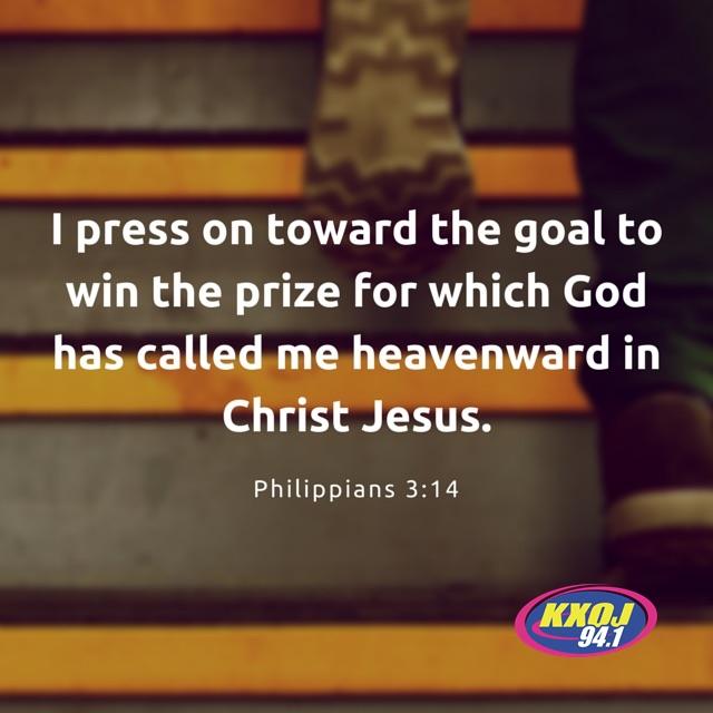 February 16th - Philippians 3:14