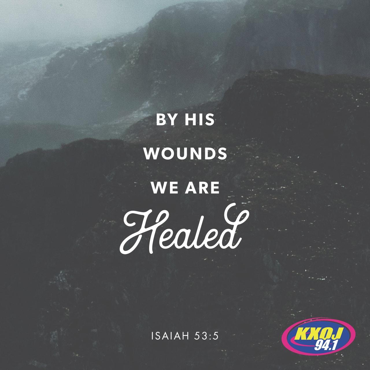 April 19th - Isaiah 53:5