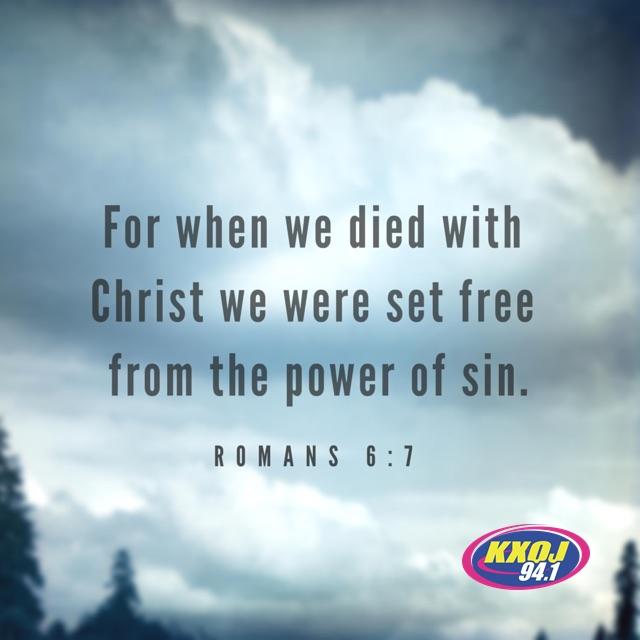 March 19th - Romans 6:7