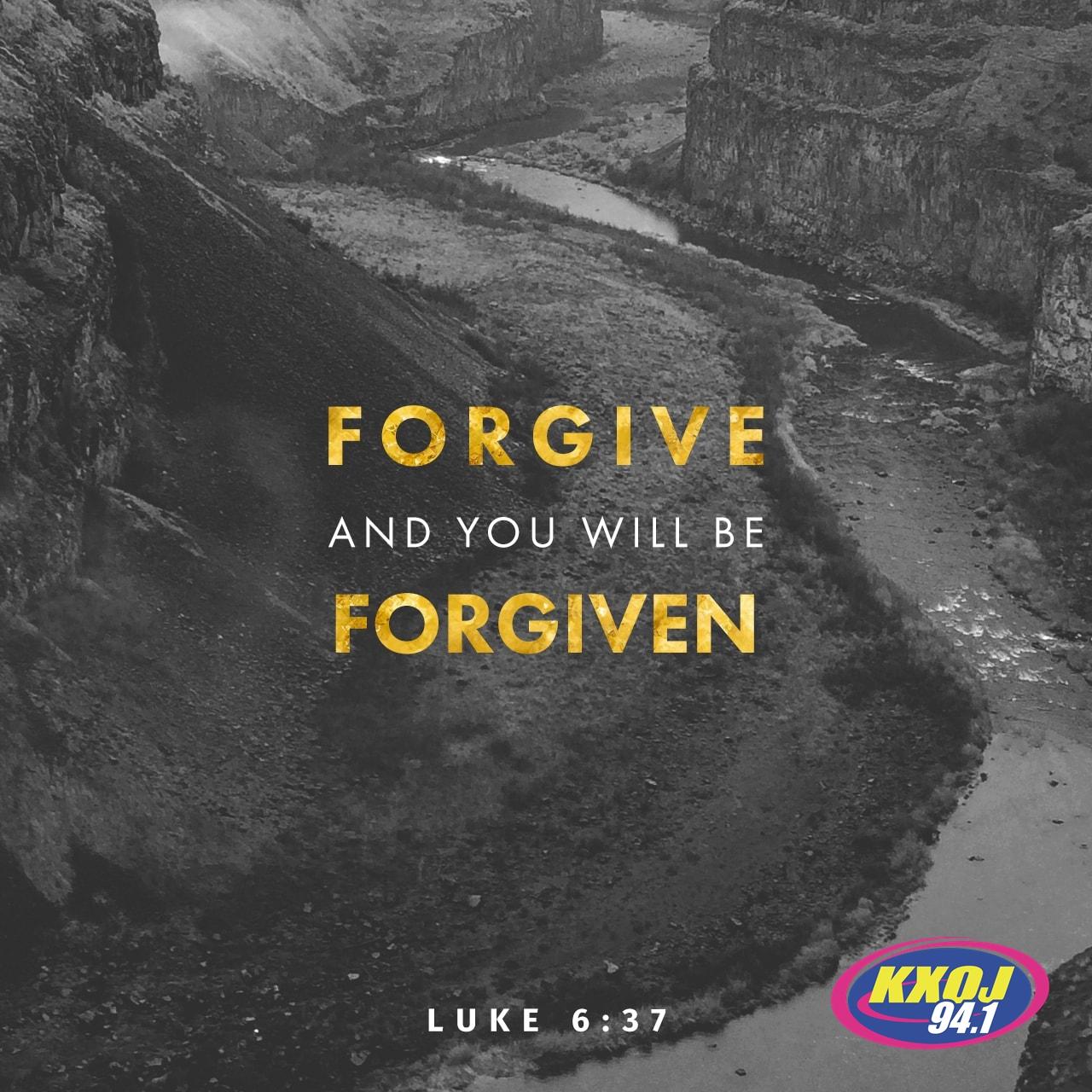 March 30th - Luke 6:37