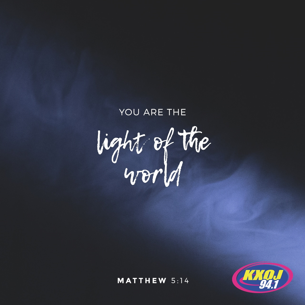 May 17th - Matthew 5:14