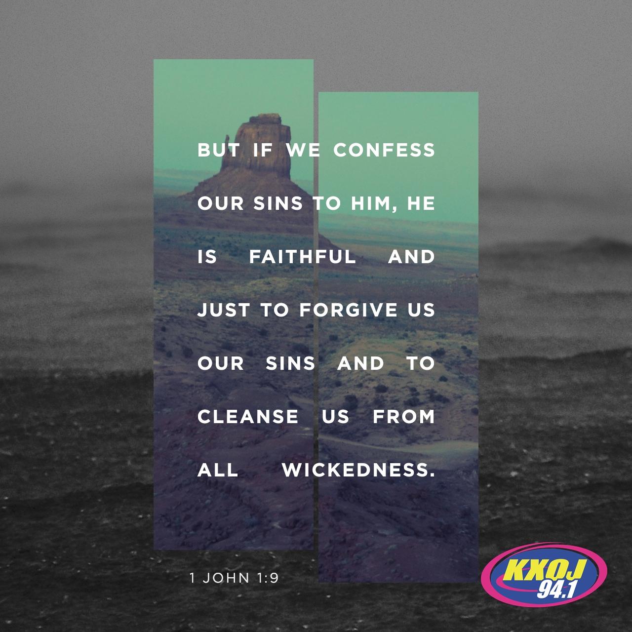 May 26th - 1 John 1:9