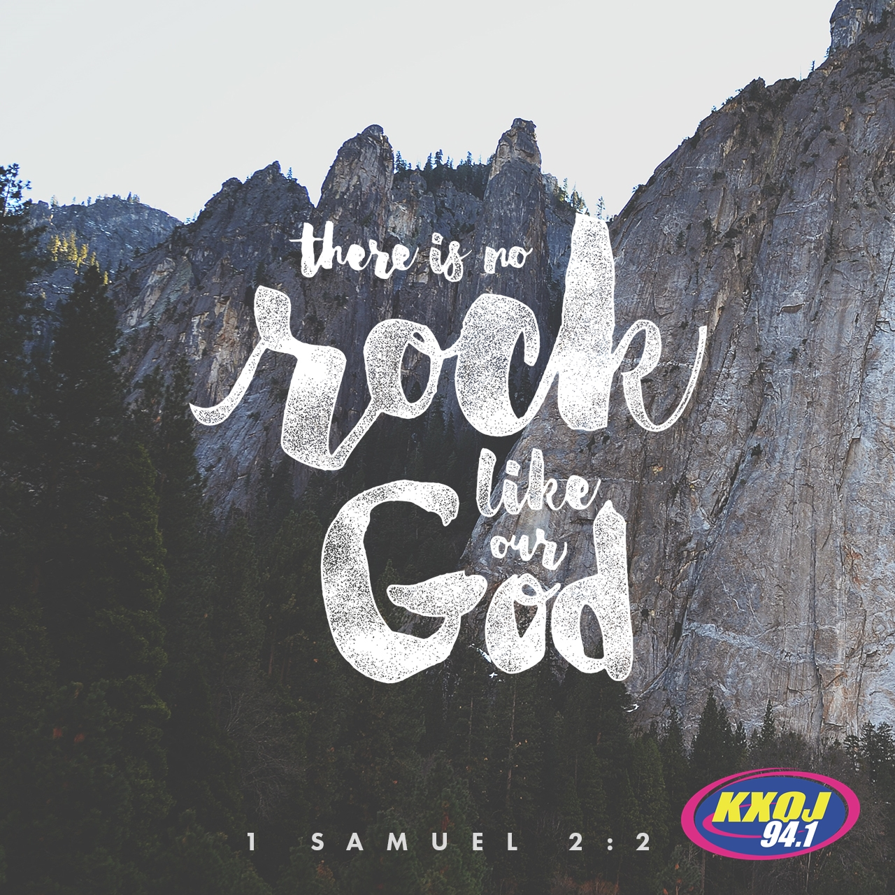 May 28th - 1 Samuel 2:2