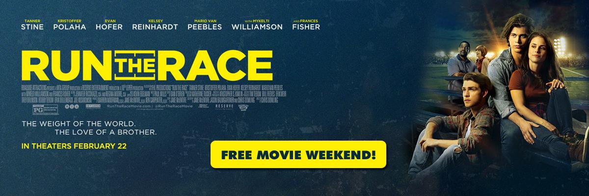 KXOJ presents a Free Movie Weekend