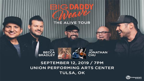 Big Daddy Weave 9/12
