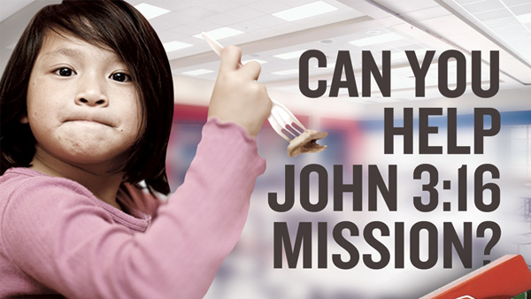 John 3:16 Canned Food Drive