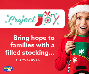 Help us fill 450 stockings with Project Joy
