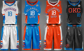 New Thunder Jersey's have Special Meaning