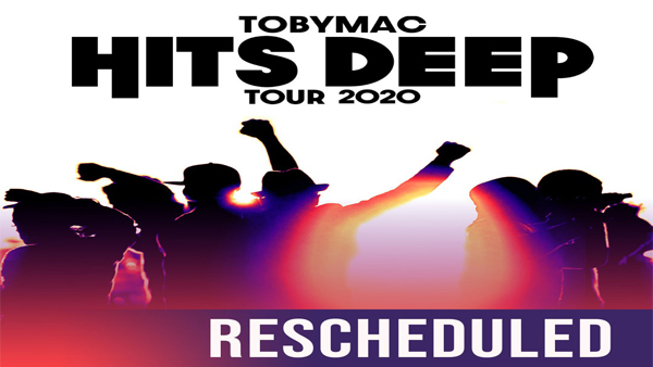 TOBYMAC Hits Deep Rescheduled for January 14th