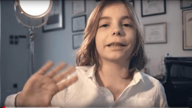 This little guy has big piano skills! Hear his original