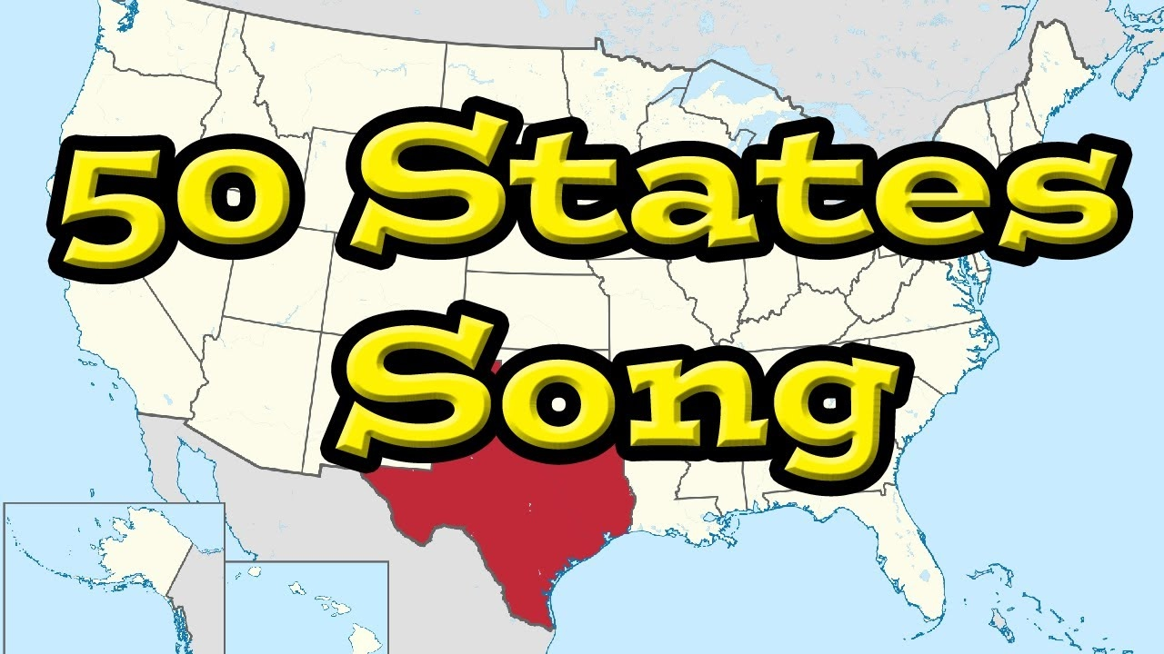 50 States That Rhyme with Dave!