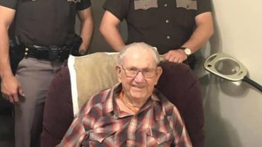 Birthday Cards for a 99 Year Old State Trooper!